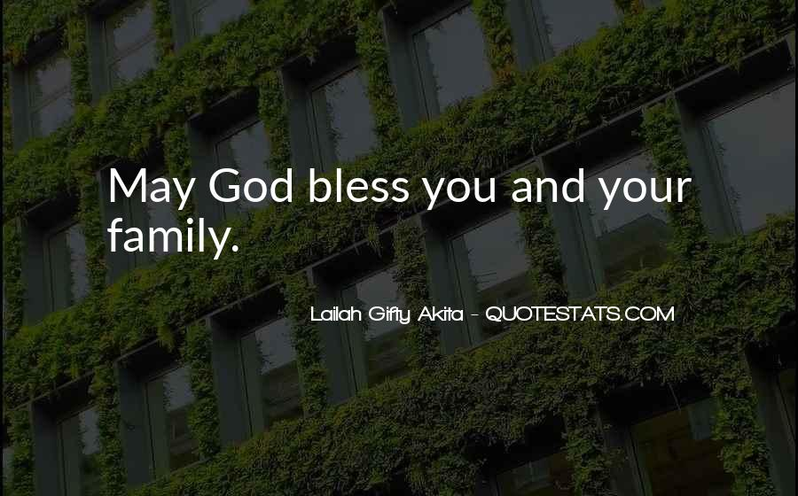 Quotes About Prayer For Family #1246964