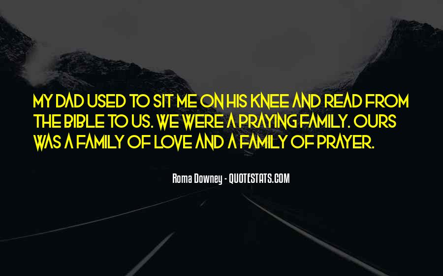 Quotes About Prayer For Family #1319755