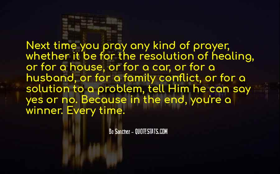 Quotes About Prayer For Family #1409213