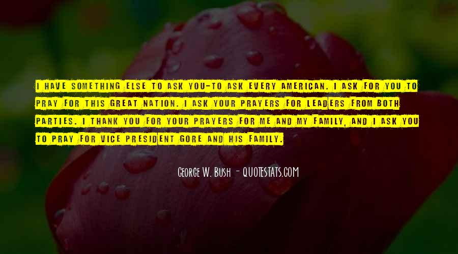 Quotes About Prayer For Family #1559287