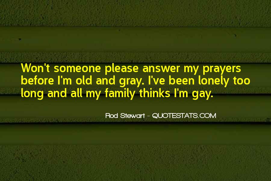 Quotes About Prayer For Family #1598261