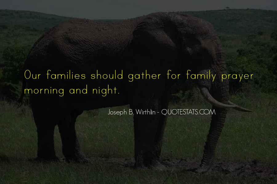 Quotes About Prayer For Family #182867