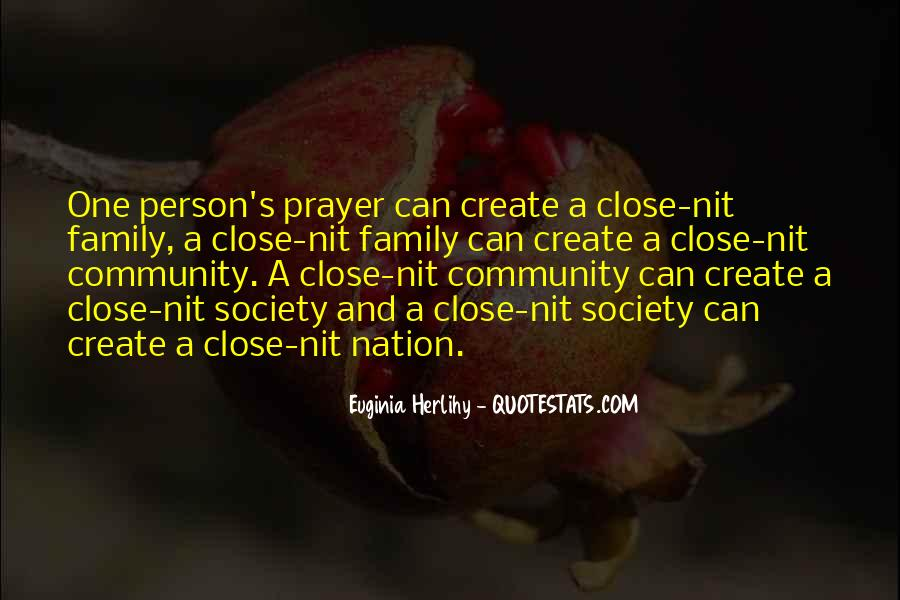 Quotes About Prayer For Family #583827