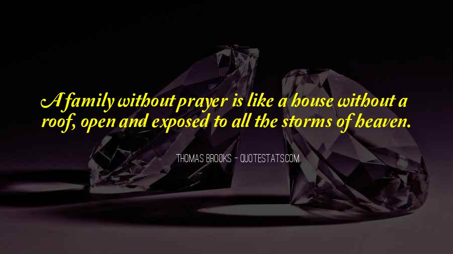 Quotes About Prayer For Family #642731