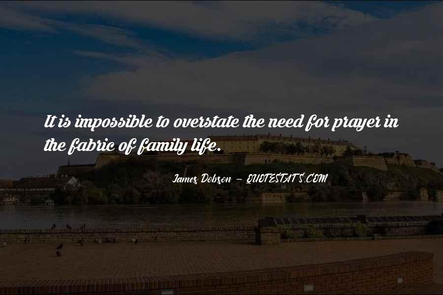 Quotes About Prayer For Family #710686