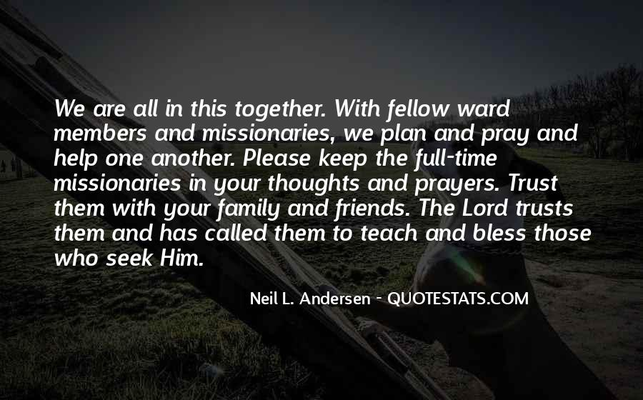 Quotes About Prayer For Family #727020