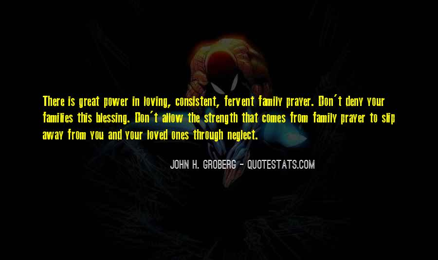 Quotes About Prayer For Family #925831