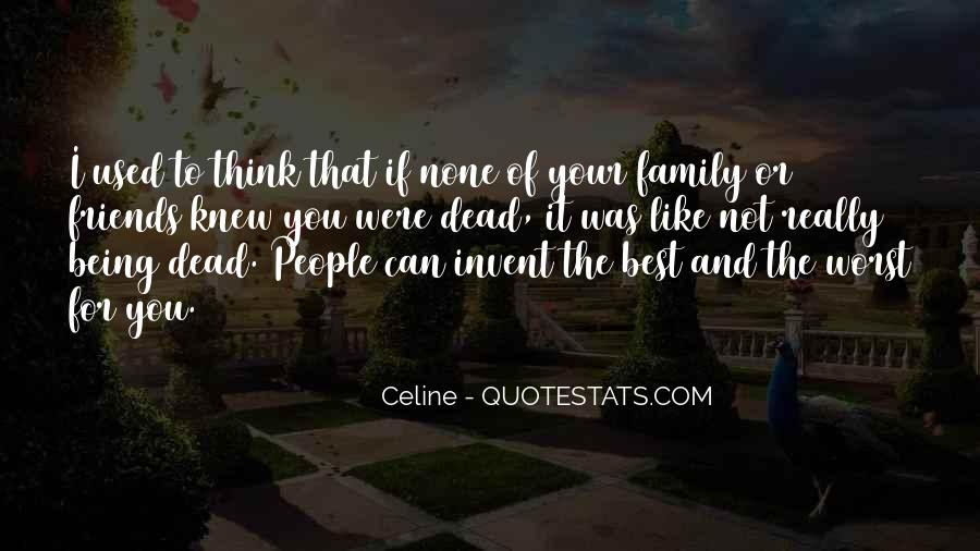 Quotes About Worst Family #178637