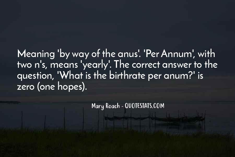 Quotes About Anus #1844043