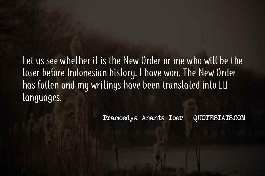 Quotes About Pramoedya #665097