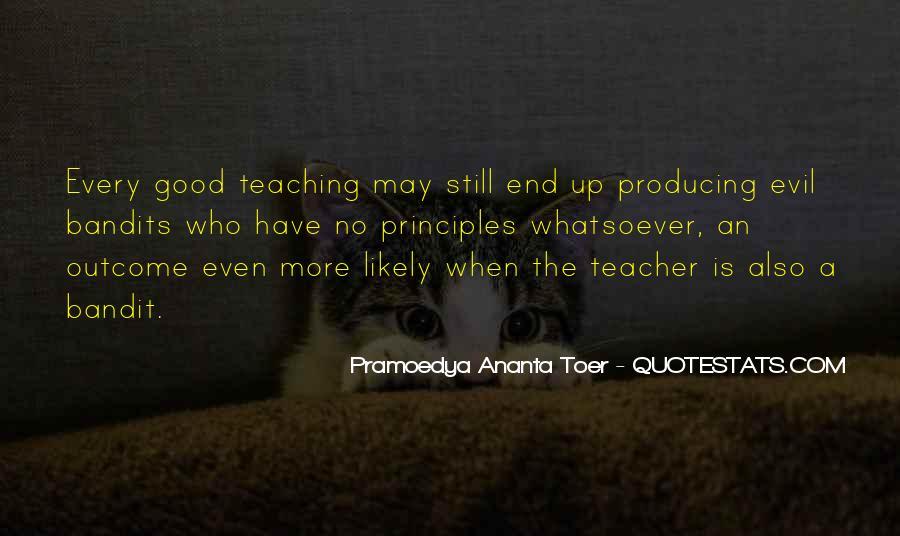 Quotes About Pramoedya #692770