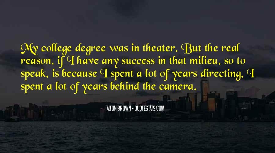 Quotes About Directing Theater #1098124