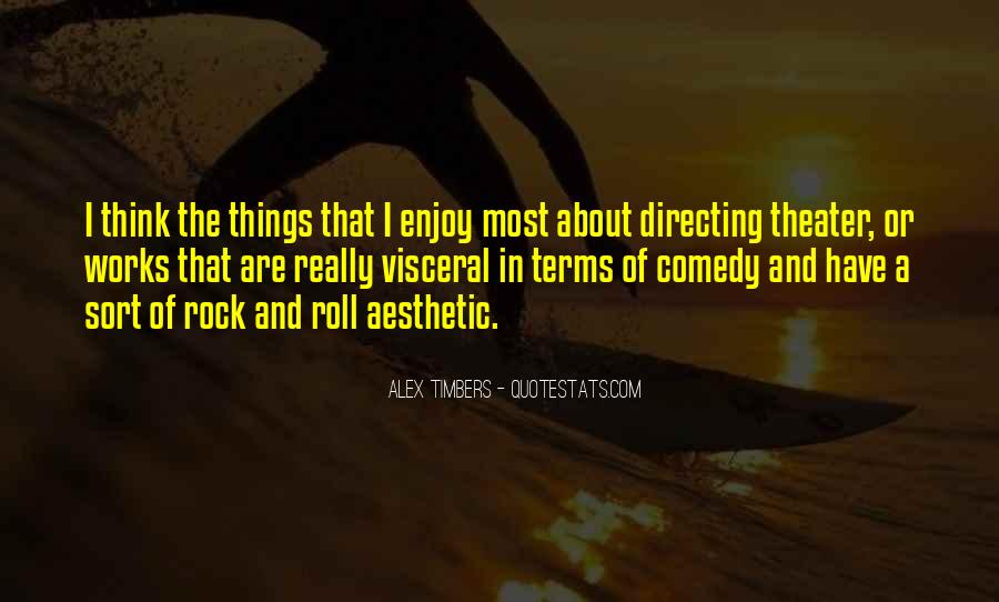 Quotes About Directing Theater #500716