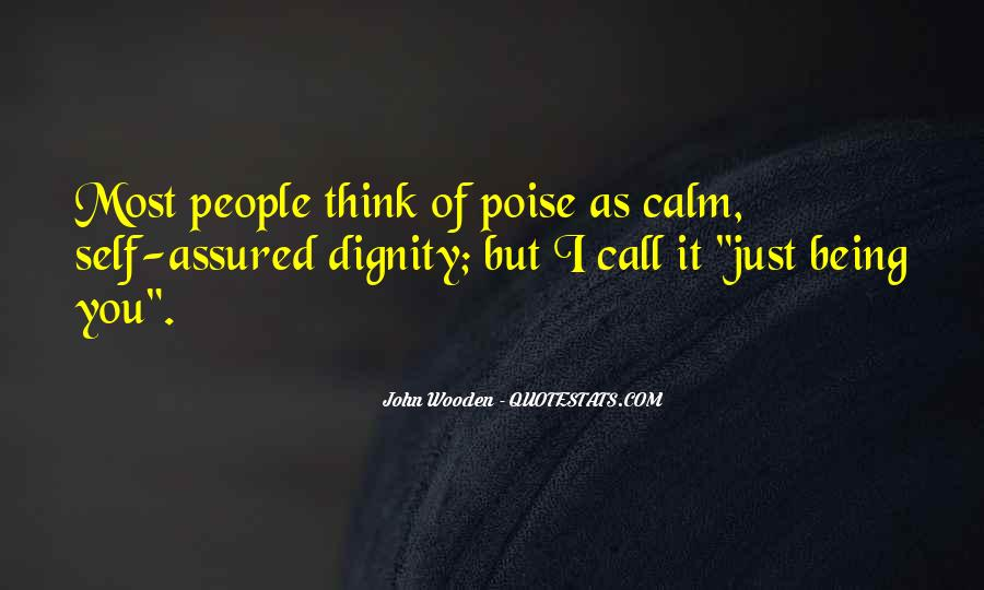 Quotes About Being Self Assured #334014