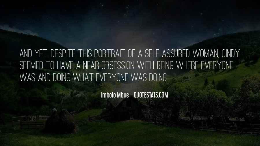 Quotes About Being Self Assured #346965