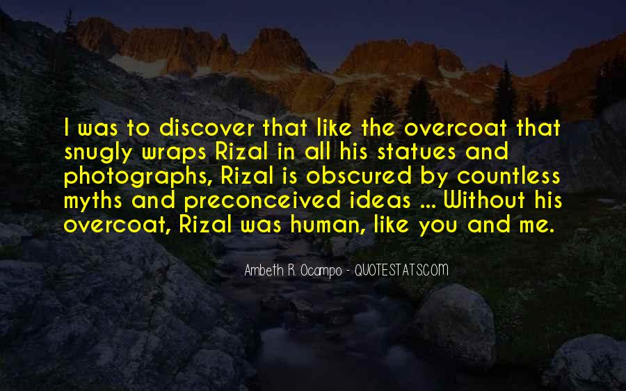 Quotes About Rizal #1037504