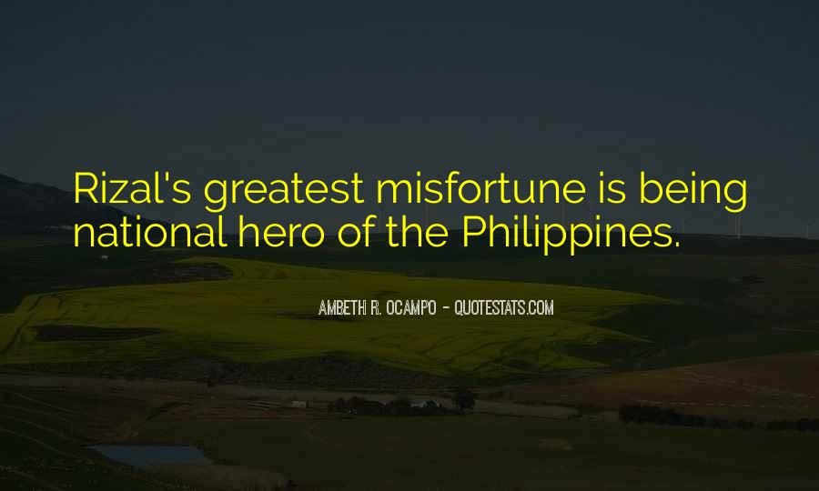 Quotes About Rizal #909752