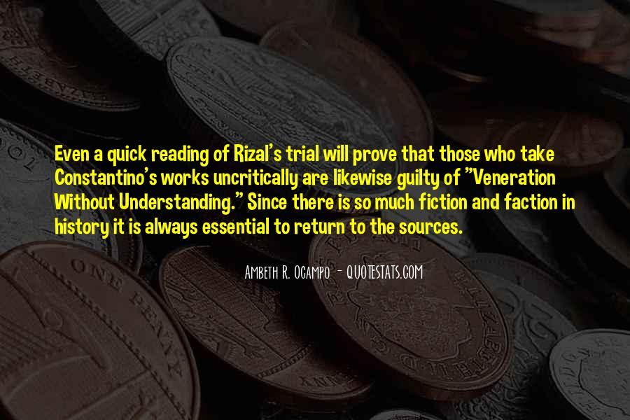 Quotes About Rizal #942196