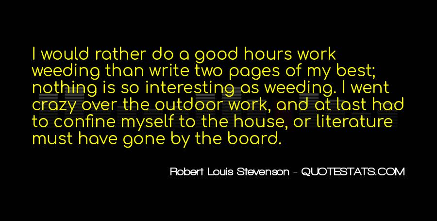Quotes About Writing And Literature #290224