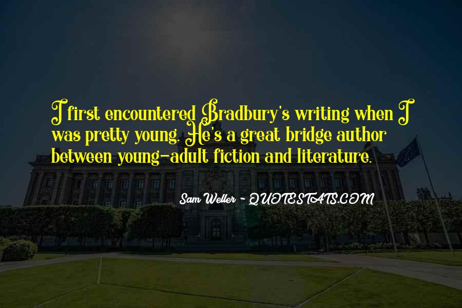 Quotes About Writing And Literature #335100