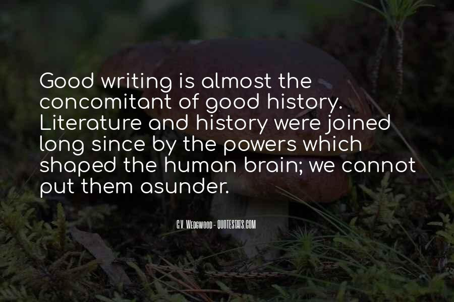 Quotes About Writing And Literature #340113