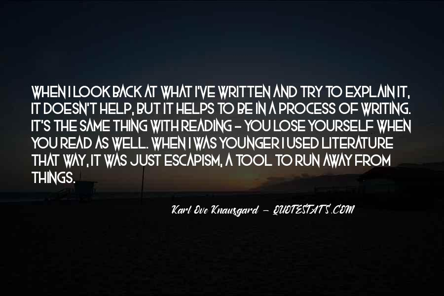 Quotes About Writing And Literature #714977