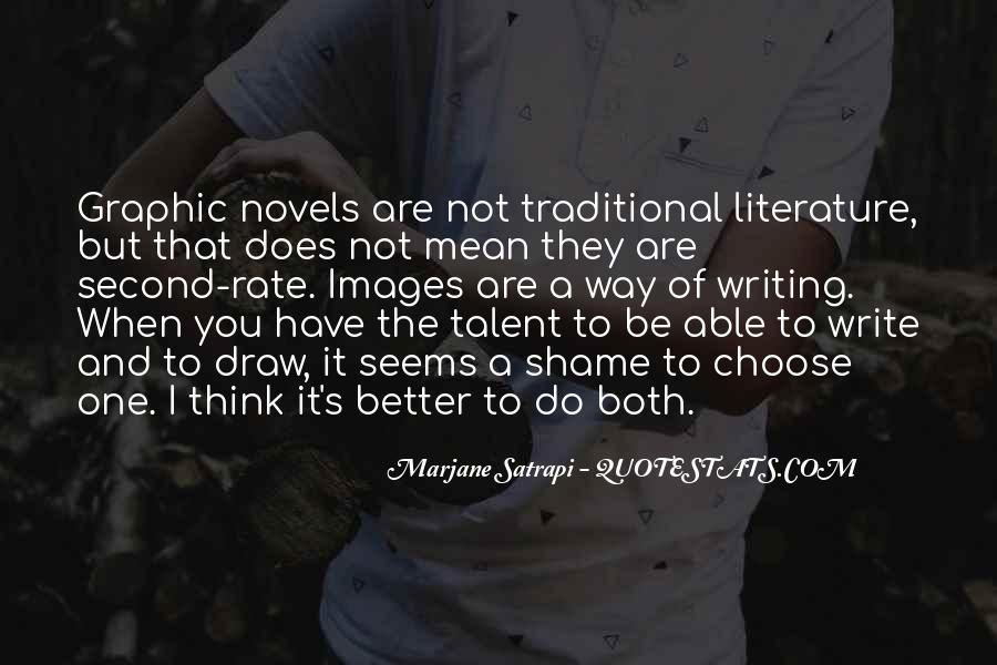 Quotes About Writing And Literature #718265