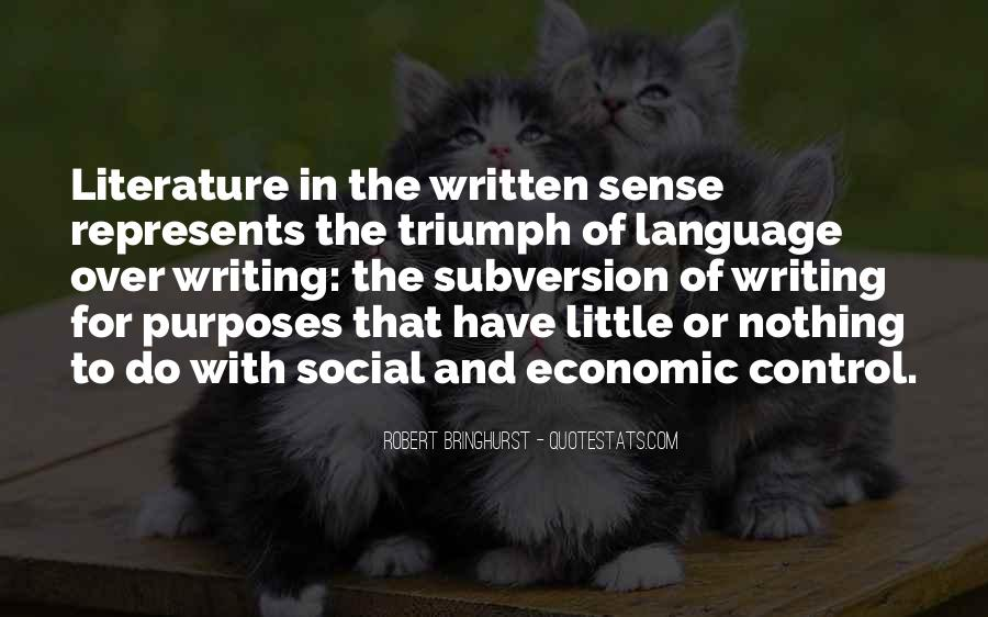 Quotes About Writing And Literature #811093