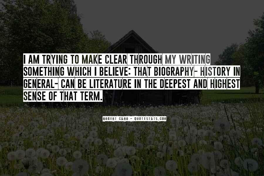 Quotes About Writing And Literature #830793
