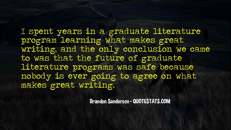 Quotes About Writing And Literature #916046