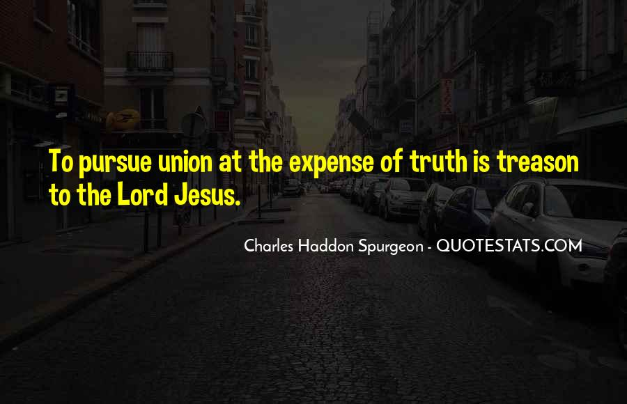 Quotes About The Lord Jesus #112638
