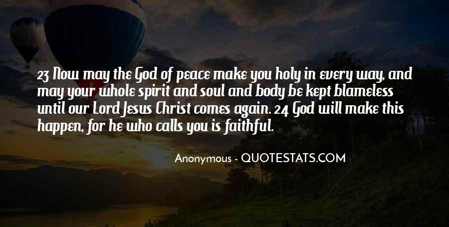 Quotes About The Lord Jesus #11335