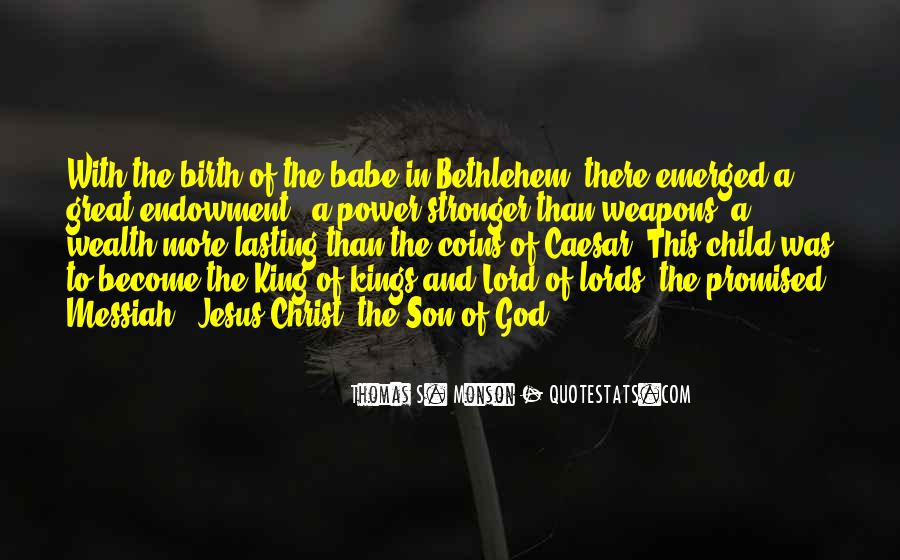 Quotes About The Lord Jesus #179600