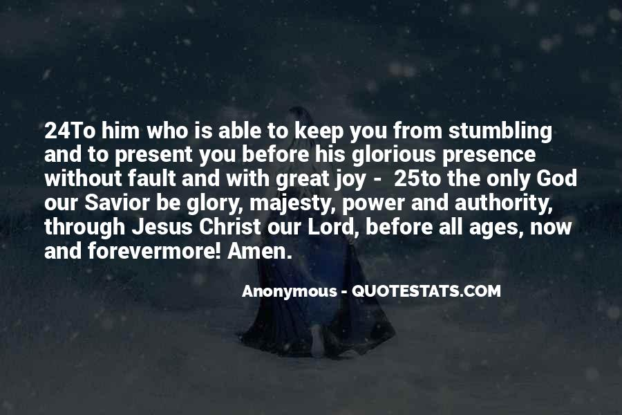 Quotes About The Lord Jesus #247223