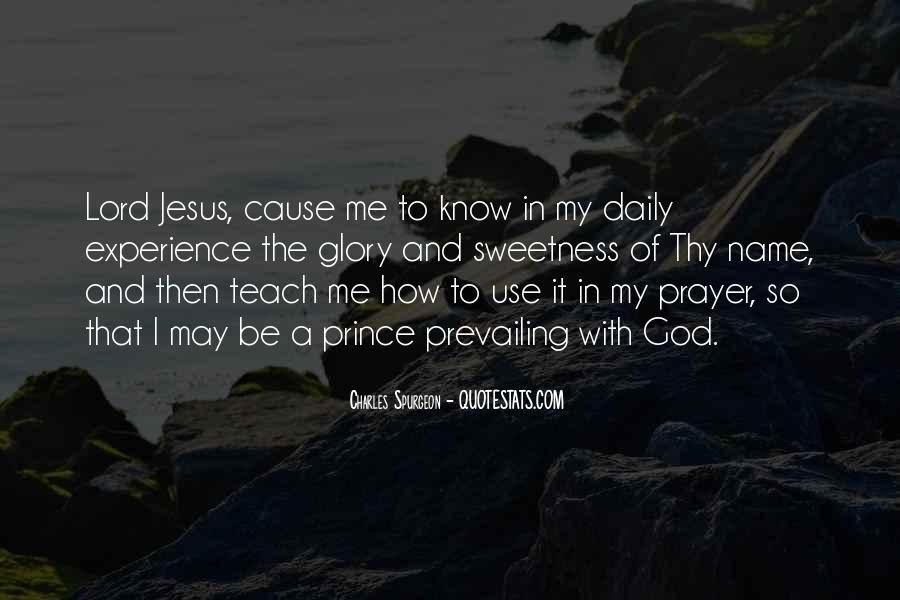 Quotes About The Lord Jesus #37789
