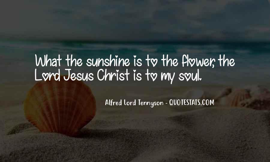 Quotes About The Lord Jesus #41871