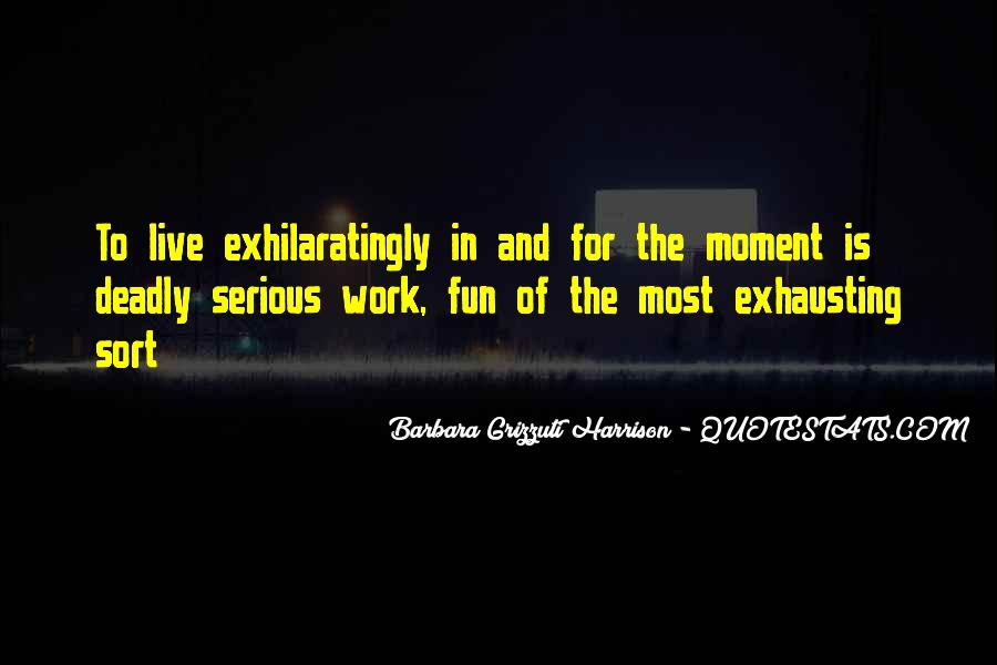 Quotes About Having Fun In The Moment #531244