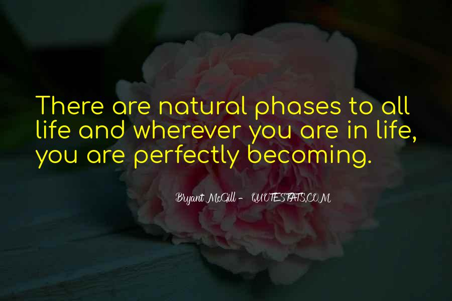 Quotes About Phases #144226