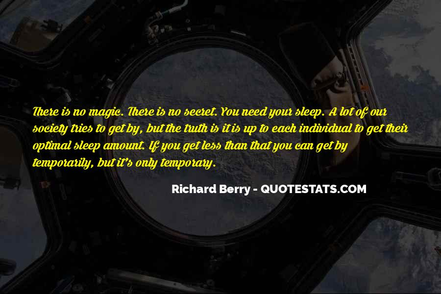 Quotes About No Sleep #138741