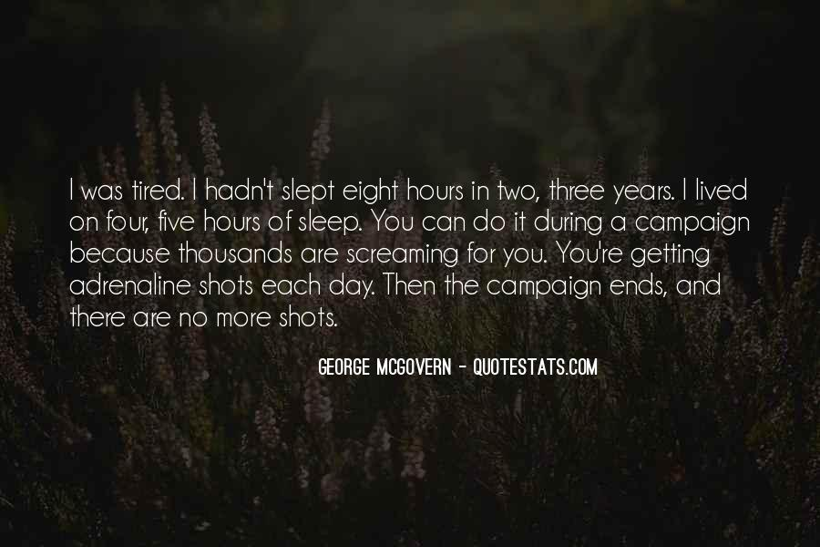 Quotes About No Sleep #154546