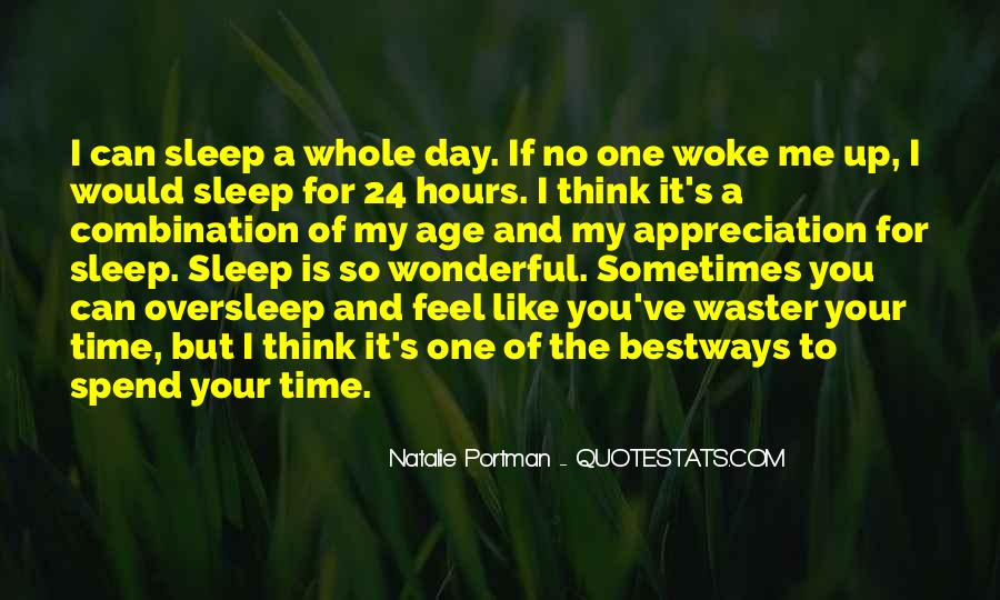 Quotes About No Sleep #205179