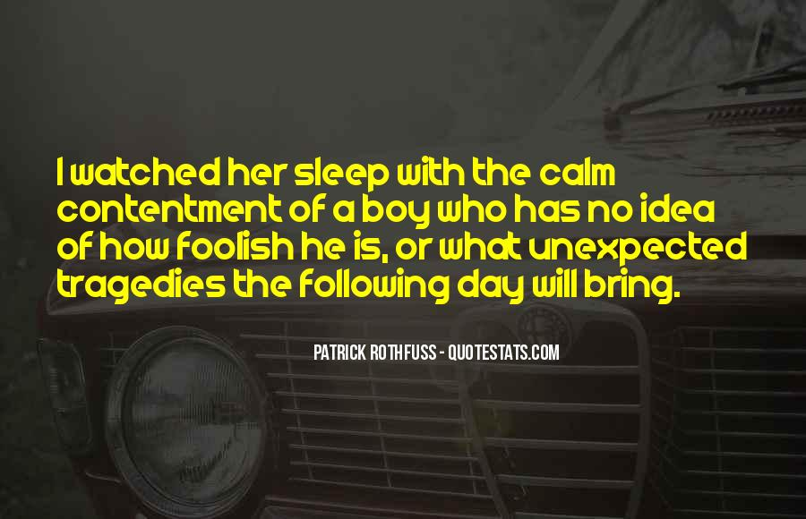 Quotes About No Sleep #241697
