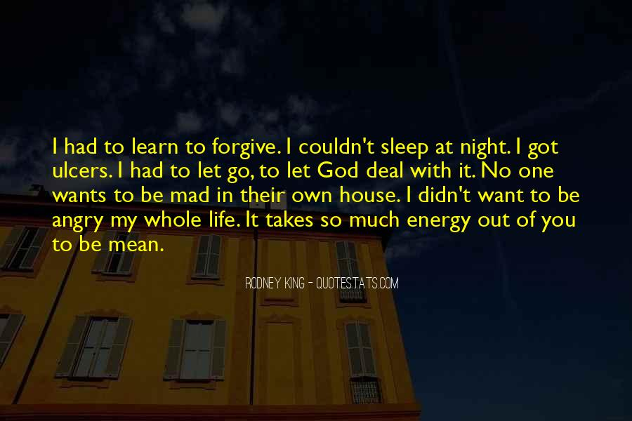Quotes About No Sleep #314453