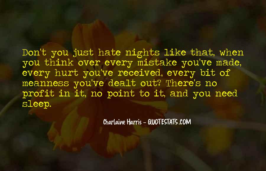 Quotes About No Sleep #59065