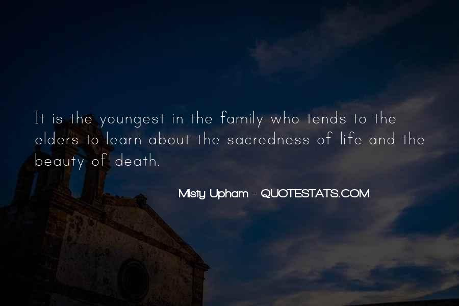 Quotes About Who Is Family #211710