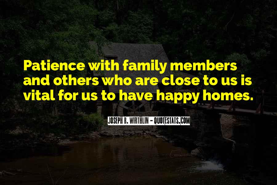 Quotes About Who Is Family #56783
