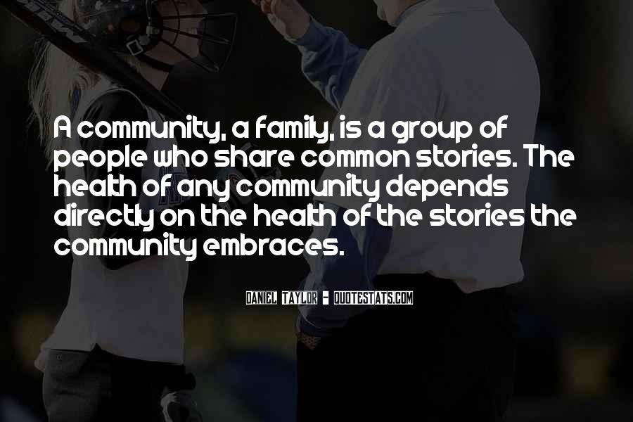 Quotes About Who Is Family #87346