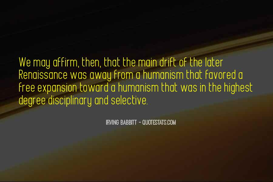 Quotes About Humanism #148993