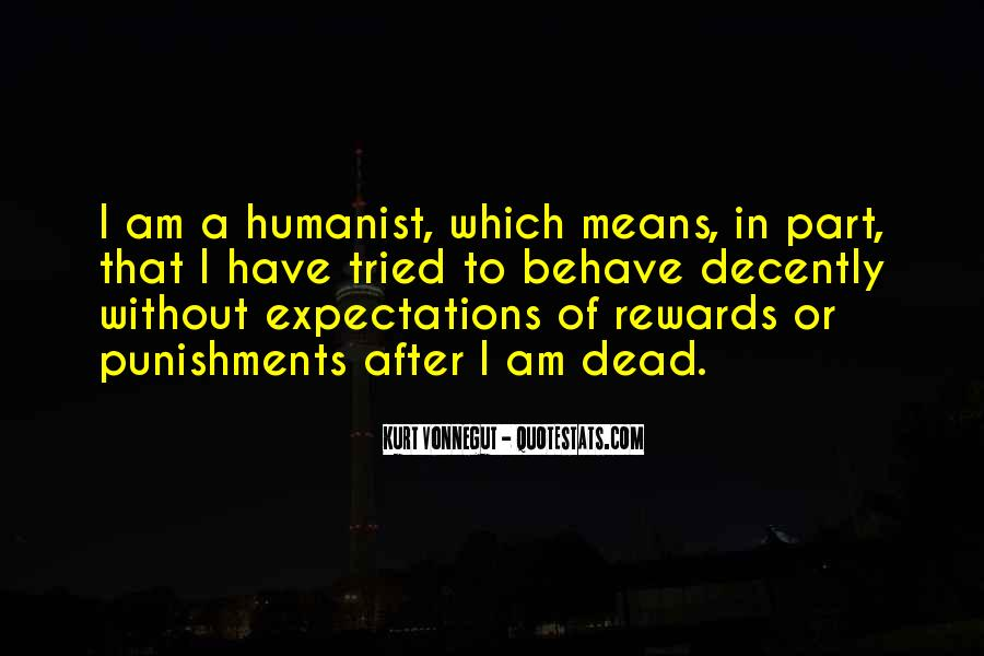 Quotes About Humanism #194771