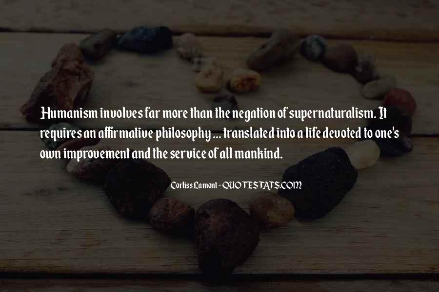 Quotes About Humanism #277970